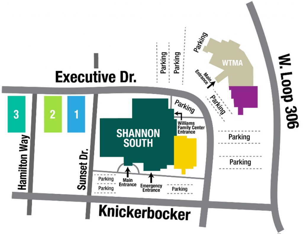 Shannon South Map